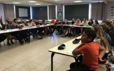 Les élèves de 5ème rencontrent une diététicienne