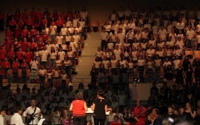 Plus de 1100 jeunes à Choralèges au Vendéspace