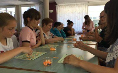 Visite des 5ème aux résidents de l'EHPAD à St Jean de Monts